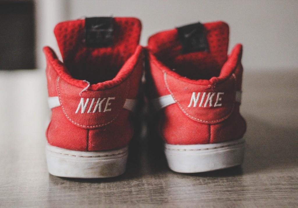 retro Nike high tops