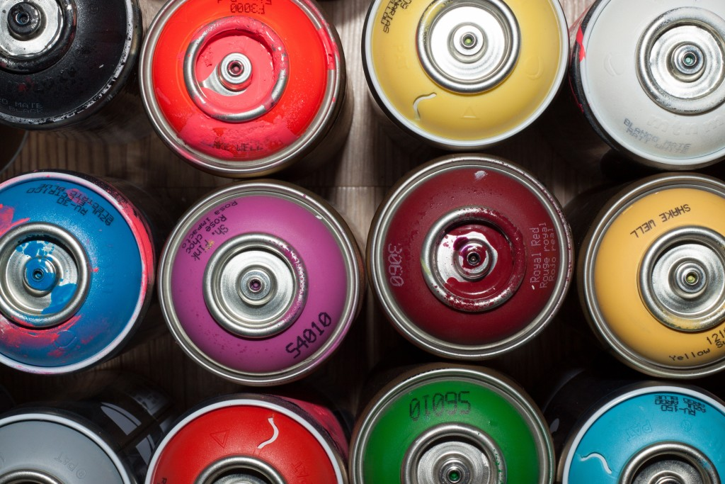 disposing of aerosol cans