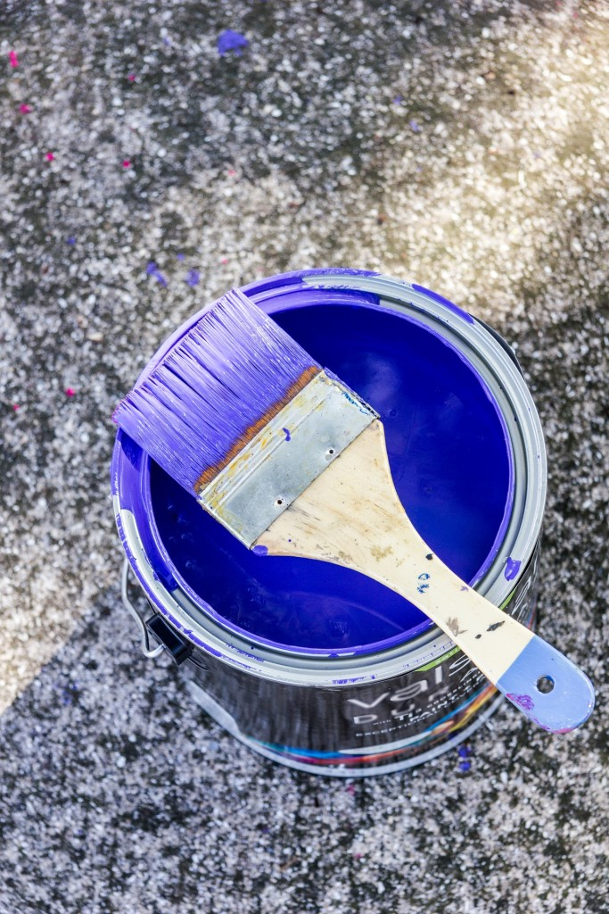 disposing of paint cans safely