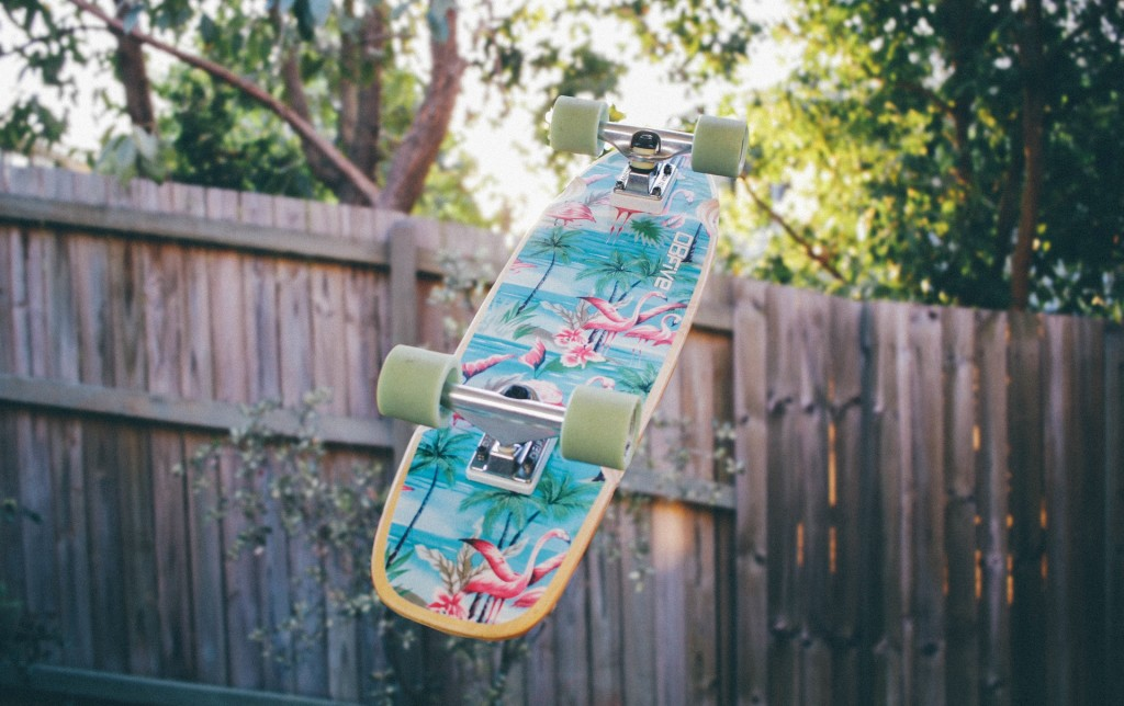 upcycle skateboard