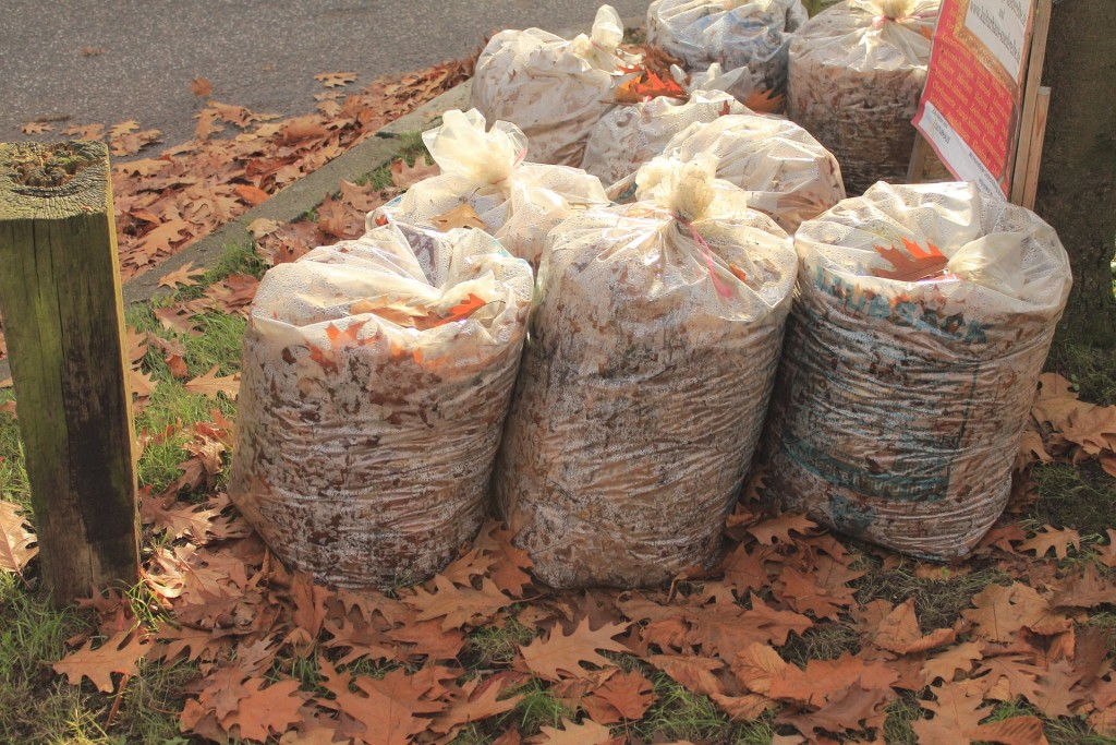 which garbage bags to use in the garden